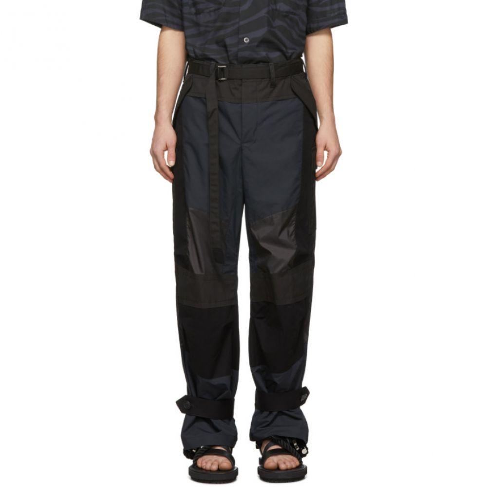 サカイ Sacai メンズ カーゴパンツ ボトムス・パンツ【Black Fabric Combo Pants】Black