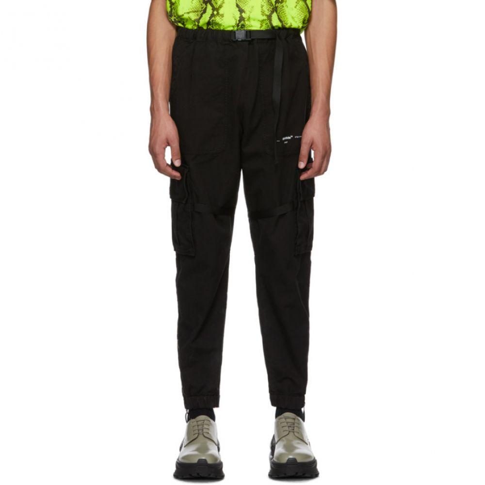 オフホワイト Off-White メンズ カーゴパンツ ボトムス・パンツ【Black Parachute Cargo Pants】Black