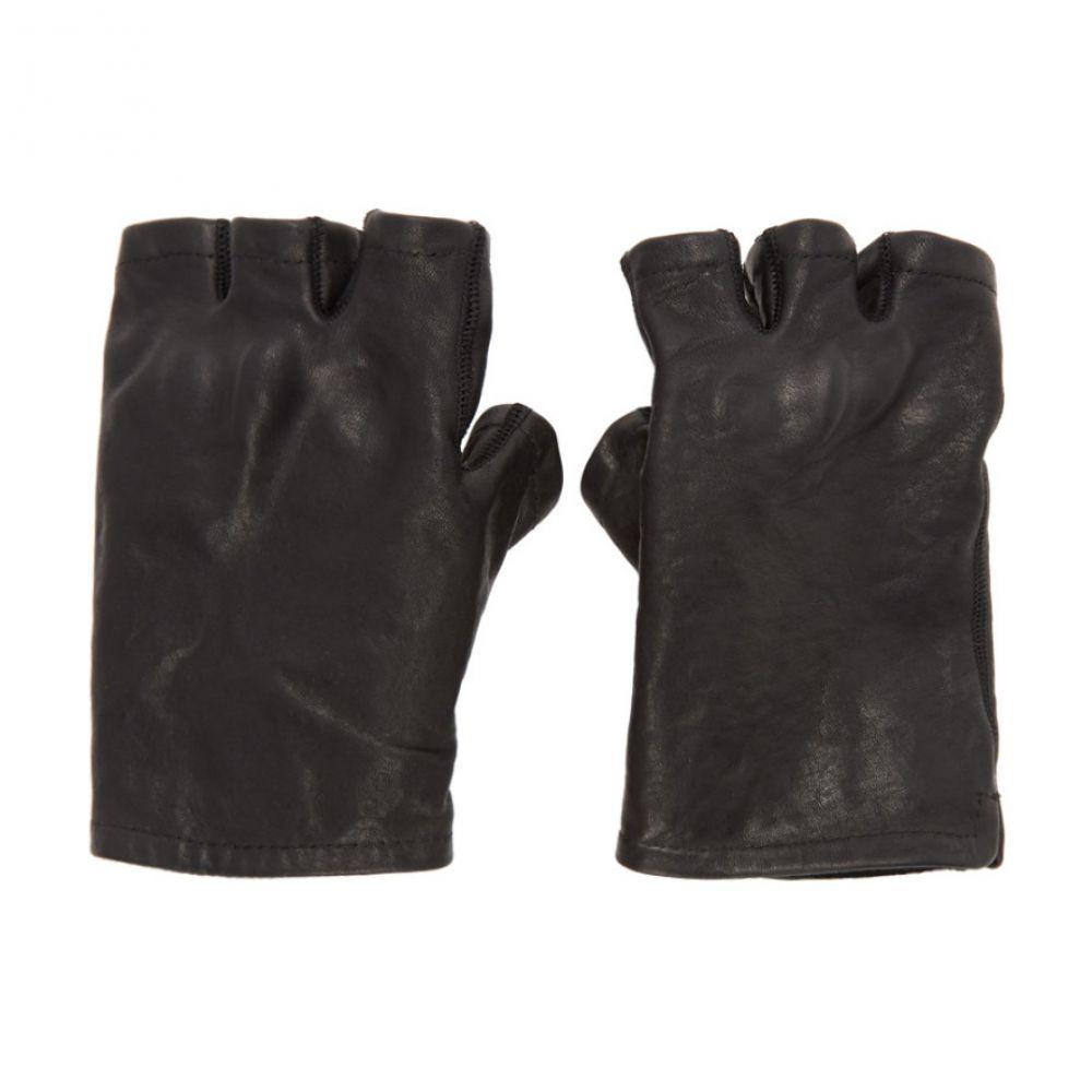 ボリス ビジャン サベリ Boris Bidjan Saberi メンズ 手袋・グローブ フィンガーレス【Black Fingerless Gloves】Black