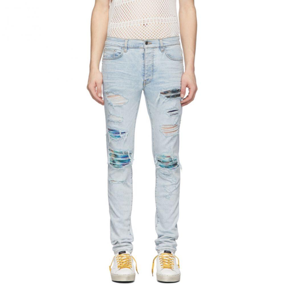 アミリ Amiri メンズ ジーンズ・デニム ボトムス・パンツ【Blue Tie-Dye MX1 Jeans】Sky indigo