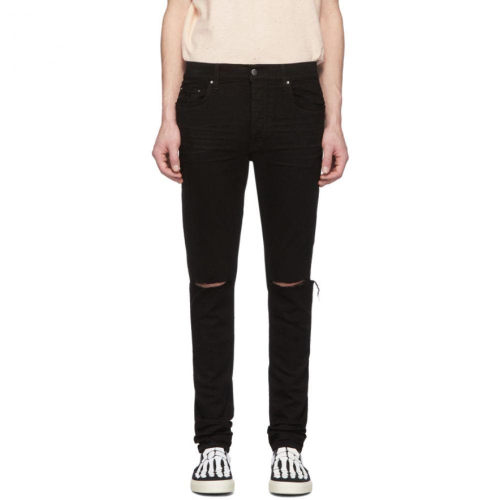 アミリ Amiri メンズ ジーンズ・デニム ボトムス・パンツ【Black Slash Jeans】Black