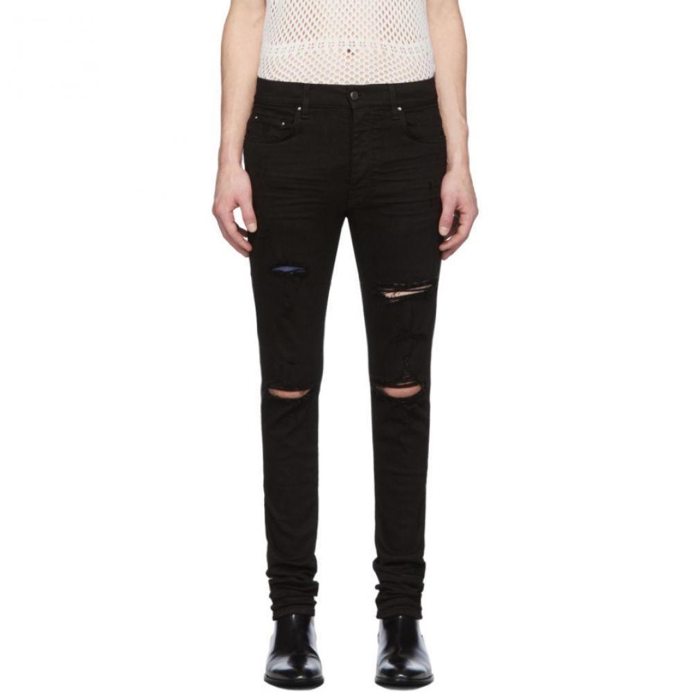 アミリ Amiri メンズ ジーンズ・デニム ボトムス・パンツ【Black Thrasher Classic Jeans】Black