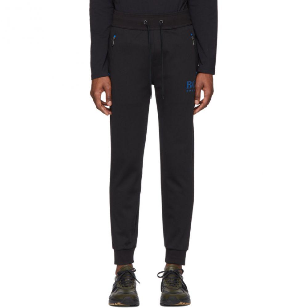 ヒューゴ ボス Boss メンズ スウェット・ジャージ ボトムス・パンツ【Black Cotton Track Pants】Black