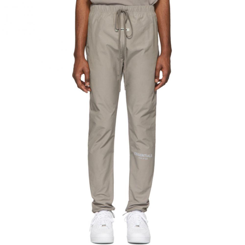 エッセンシャルズ Essentials メンズ スウェット・ジャージ ボトムス・パンツ【Grey Canvas Lounge Pants】Grey flannel