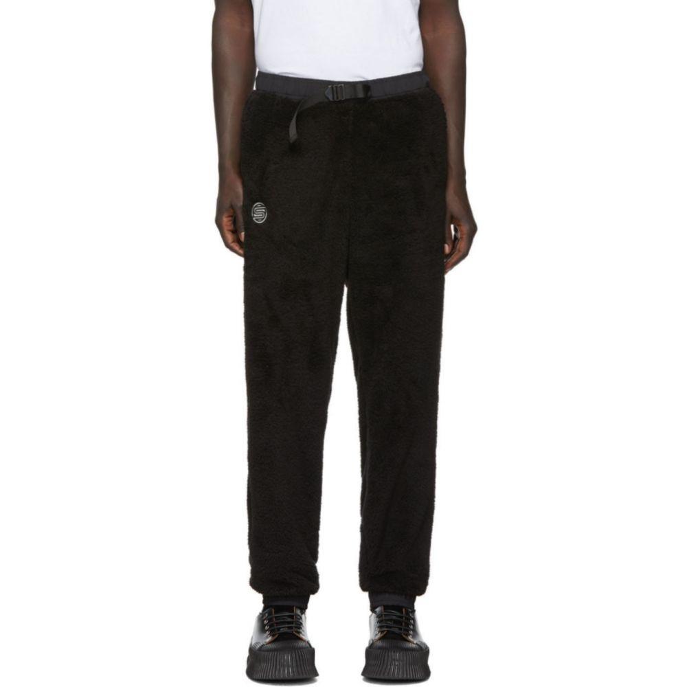 サタデーニューヨーク Saturdays NYC メンズ スウェット・ジャージ ボトムス・パンツ【Black Fleece Serai Lounge Pants】Black