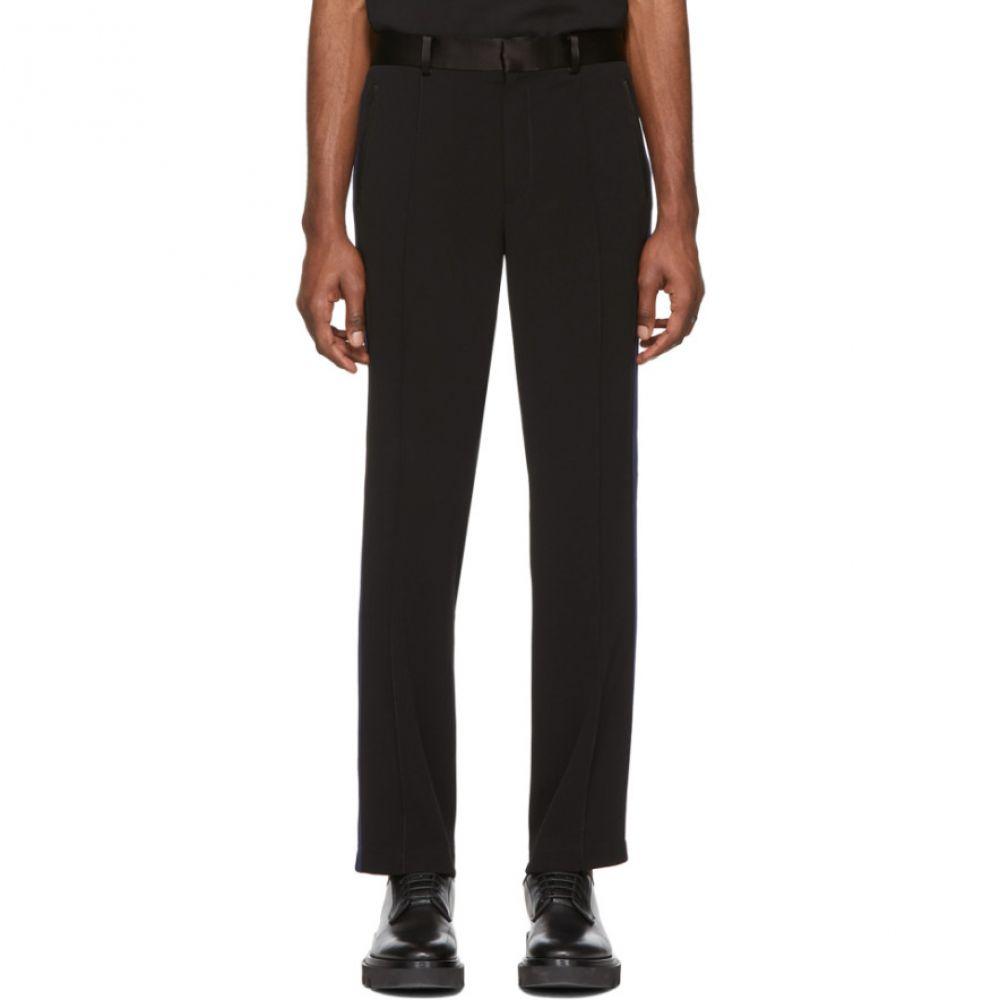 コーチ Coach 1941 メンズ スウェット・ジャージ ボトムス・パンツ【Black & Navy Track Trousers】Black/Navy