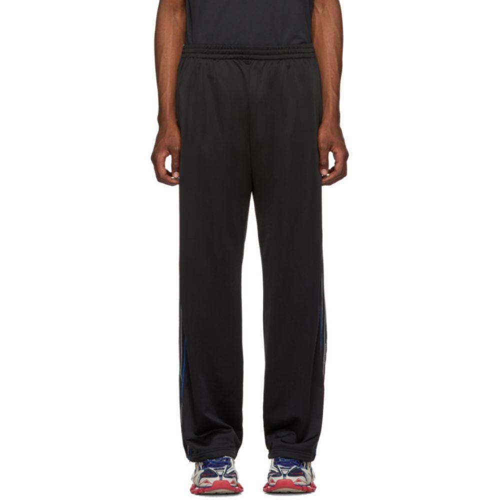 バレンシアガ Balenciaga メンズ スウェット・ジャージ ボトムス・パンツ【Black Stripe Track Pants】Black