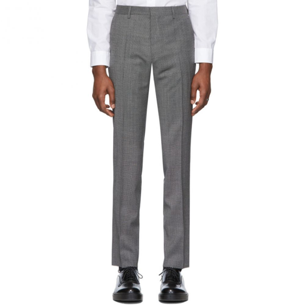 ヒューゴ ボス Boss メンズ スキニー・スリム ボトムス・パンツ【Black Genius Slim-Fit Trousers】Black