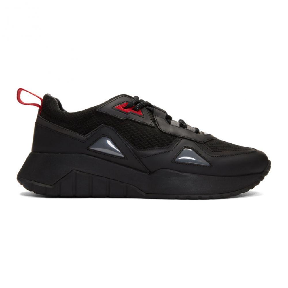 ヒューゴ ボス Hugo メンズ ランニング・ウォーキング スニーカー シューズ・靴【Black Atom Running Sneakers】Black