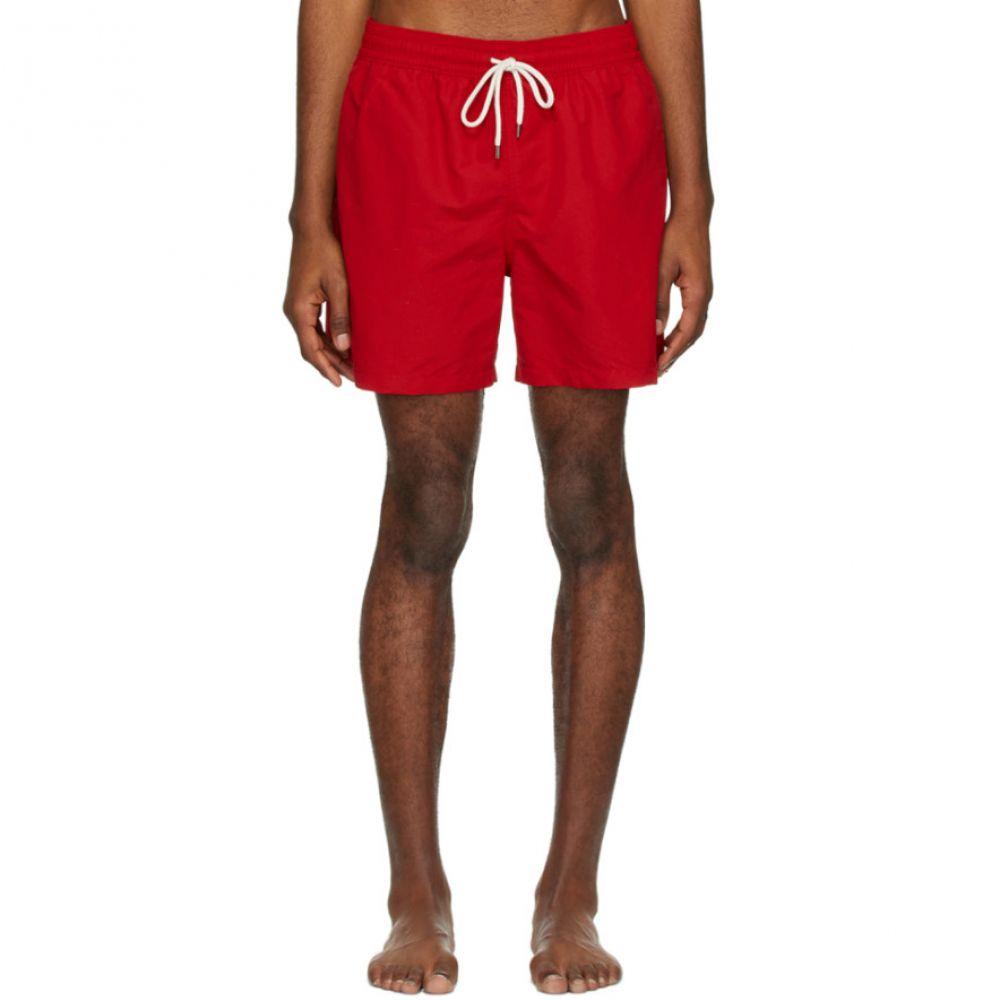 ラルフ ローレン Polo Ralph Lauren メンズ 海パン ショートパンツ 水着・ビーチウェア【Red Traveler Swim Shorts】Red
