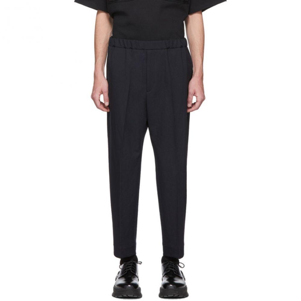 ジル サンダー Jil Sander メンズ ボトムス・パンツ 【Navy Twill Trousers】Dark blue