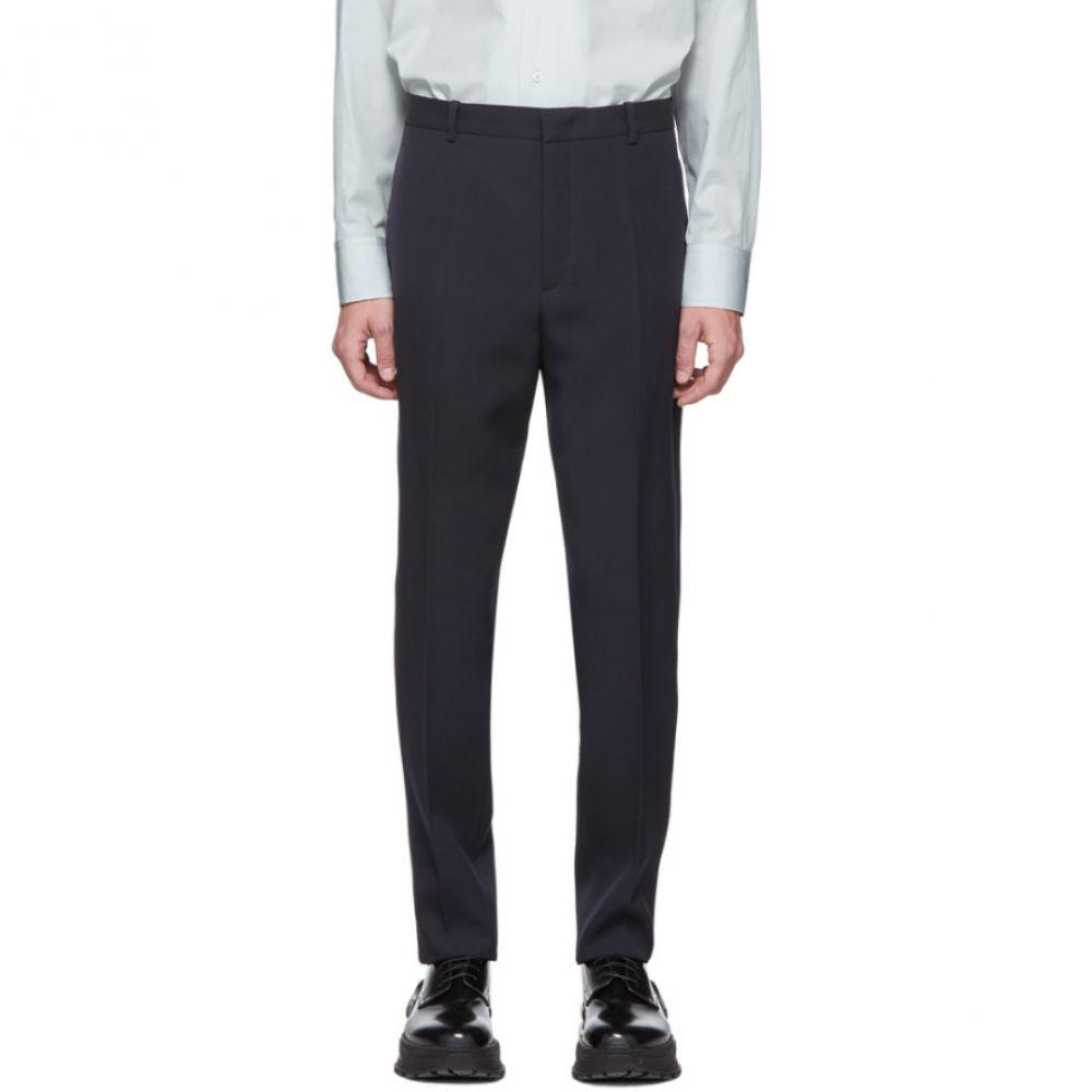 ジル サンダー Jil Sander メンズ ボトムス・パンツ 【Navy Essential Trousers】Dark blue