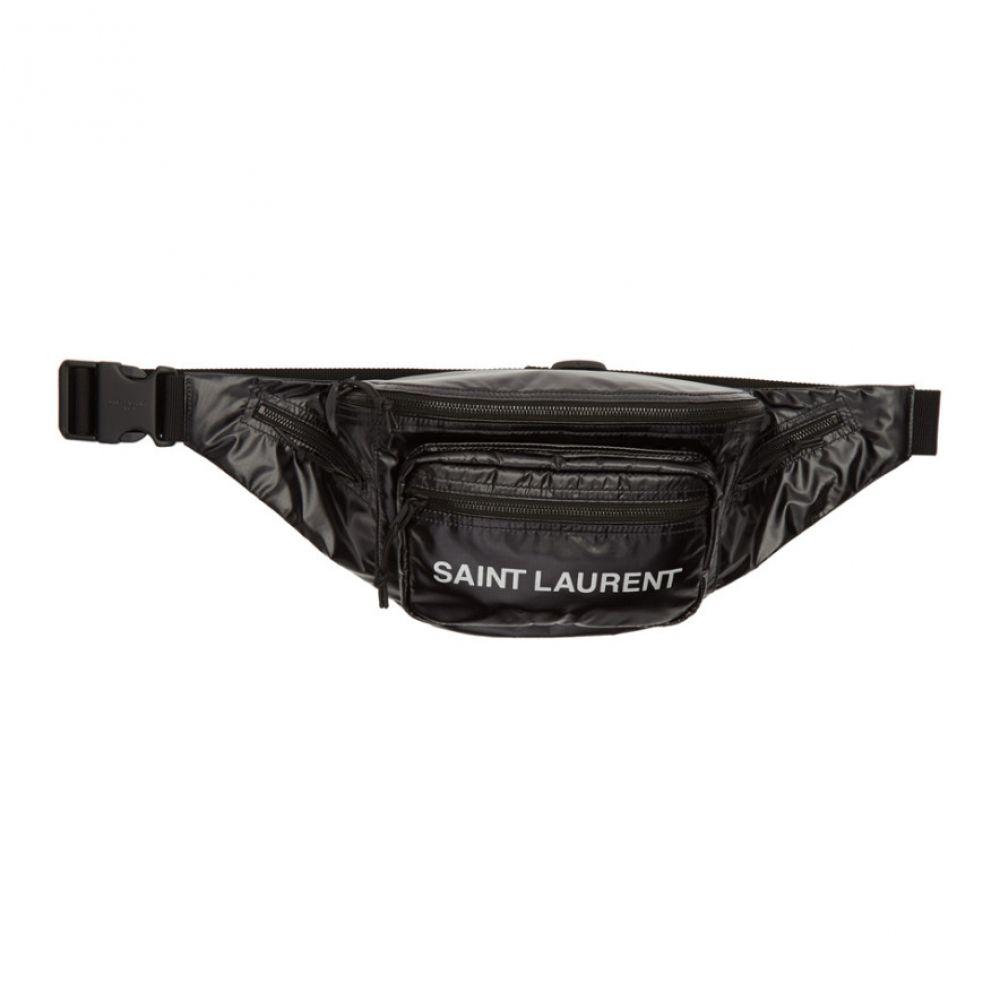イヴ サンローラン Saint Laurent メンズ ポーチ 【Black Nuxx Bodybag Pouch】Black