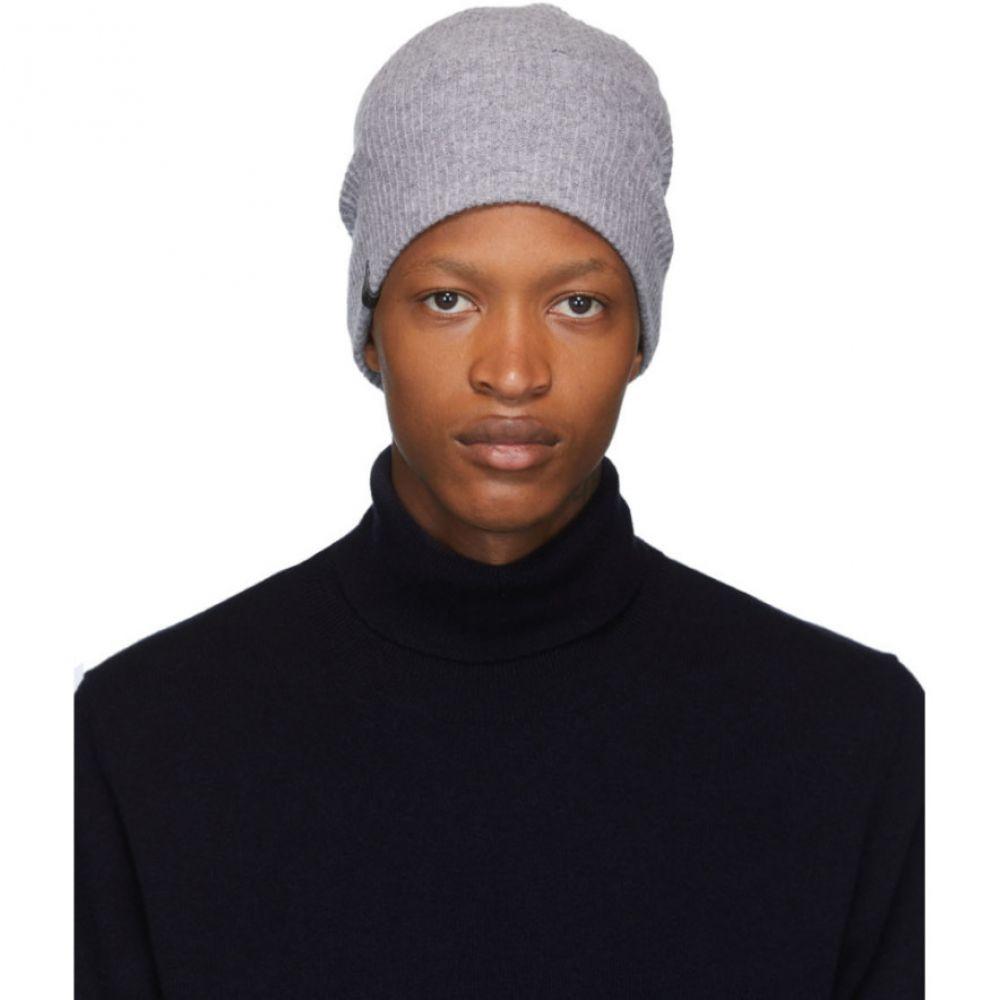 マッカージュ Mackage メンズ ニット ビーニー 帽子【Grey Wool & Cashmere Tazio-R Beanie】Grey