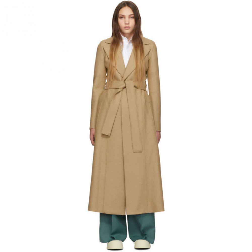 ハリスワーフロンドン Harris Wharf London レディース コート アウター【Tan Long Duster Coat】Tan