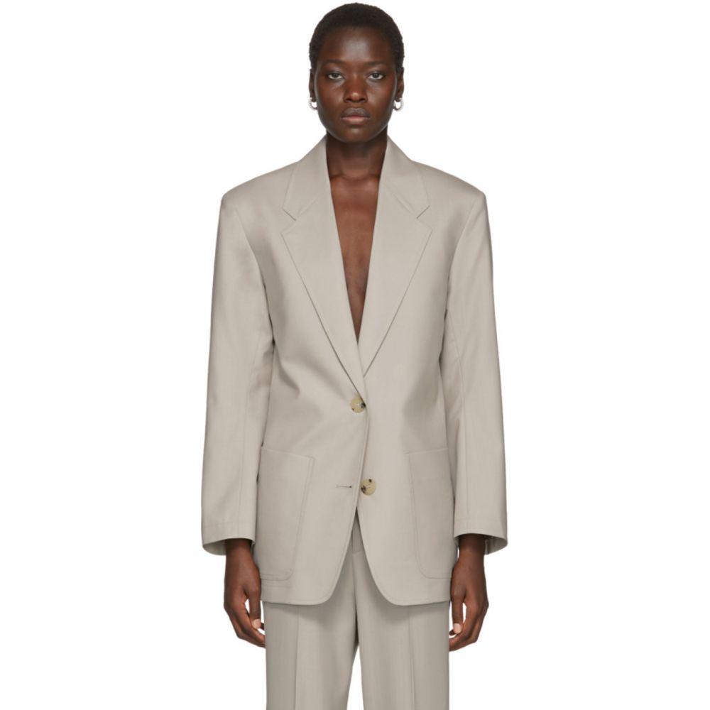 アーチ ザ Arch The レディース スーツ・ジャケット アウター【Grey Two Pocket Blazer】Grey