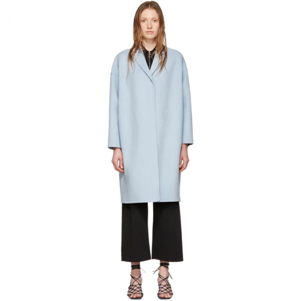 ステラ マッカートニー Stella McCartney レディース コート アウター【Blue Wool Bilpin Coat】Angel