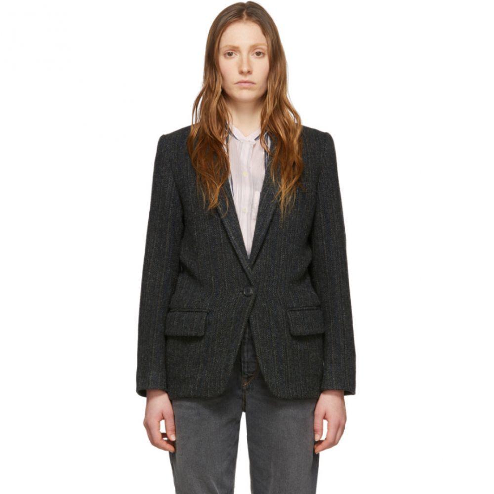イザベル マラン Isabel Marant Etoile レディース スーツ・ジャケット アウター【Black Wool Charly Jacket】Black