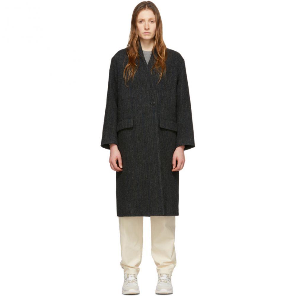 イザベル マラン Isabel Marant Etoile レディース コート アウター【Black Wool Henlo Coat】Black