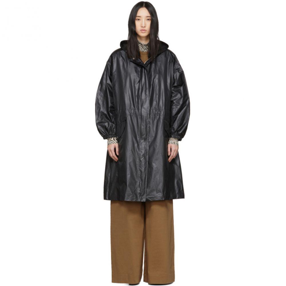 ジョゼフ Joseph レディース コート アウター【Black Shiny Coated Lennon Coat】Black