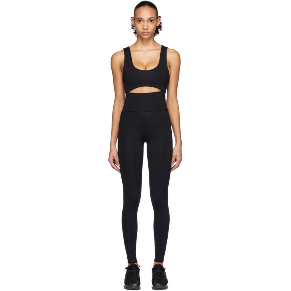 ライブ ザ プロセス Live the Process レディース ボディースーツ インナー・下着【Black Cut-Out Leggings Bodysuit】Black