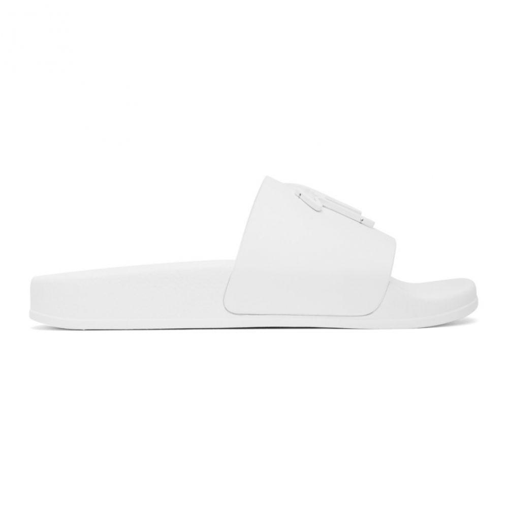 ジュゼッペ ザノッティ Giuseppe Zanotti レディース サンダル・ミュール シューズ・靴【White Leather Brett Sandals】White