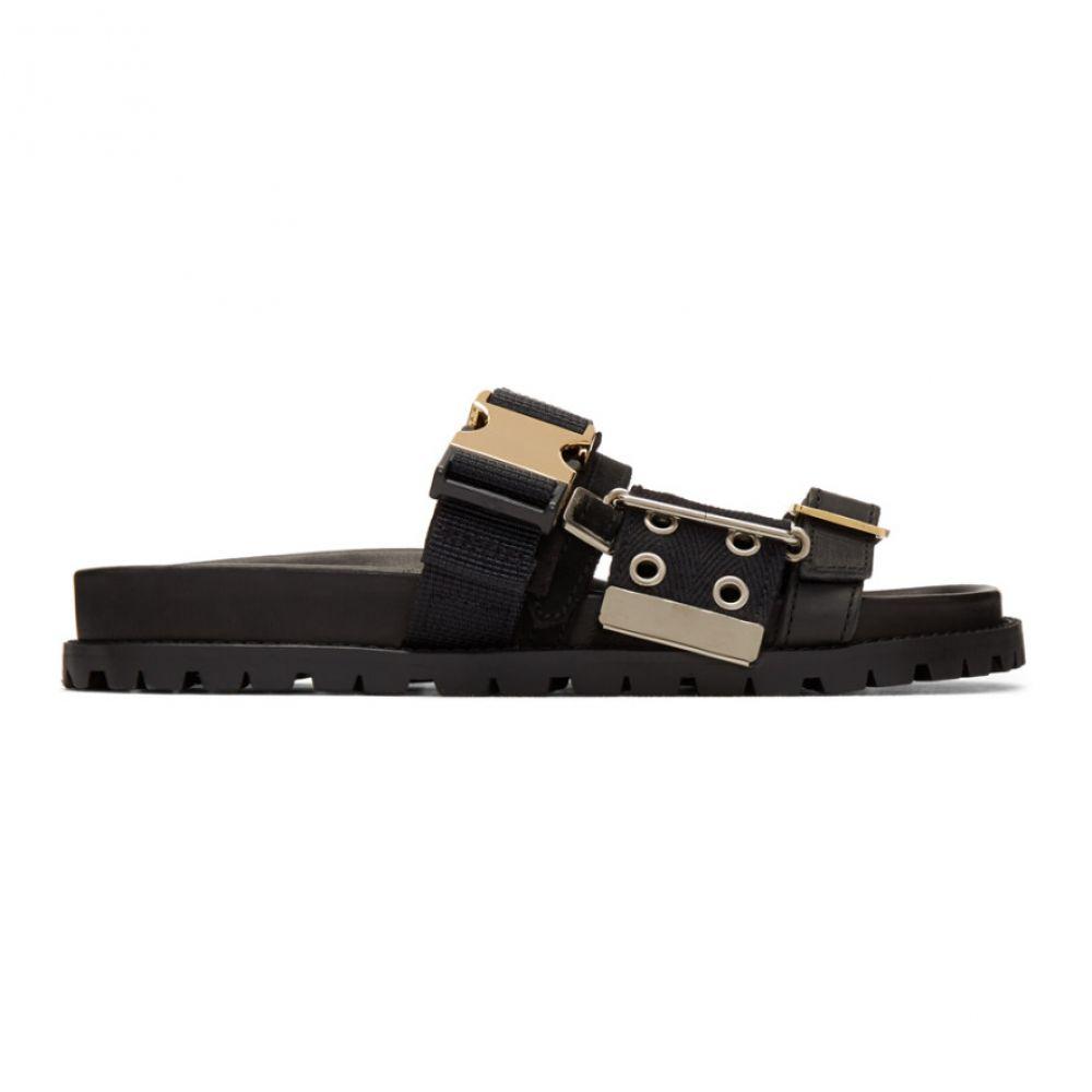 サカイ Sacai レディース サンダル・ミュール シューズ・靴【Black Belted Sandals】Black