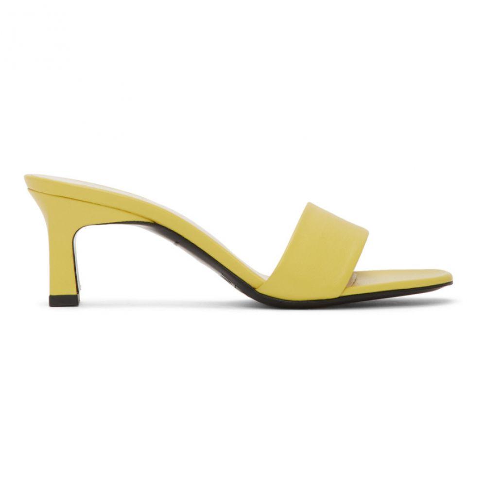 サイモンミラー Simon Miller レディース サンダル・ミュール シューズ・靴【Yellow Solo Heeled Sandals】Sea lemon