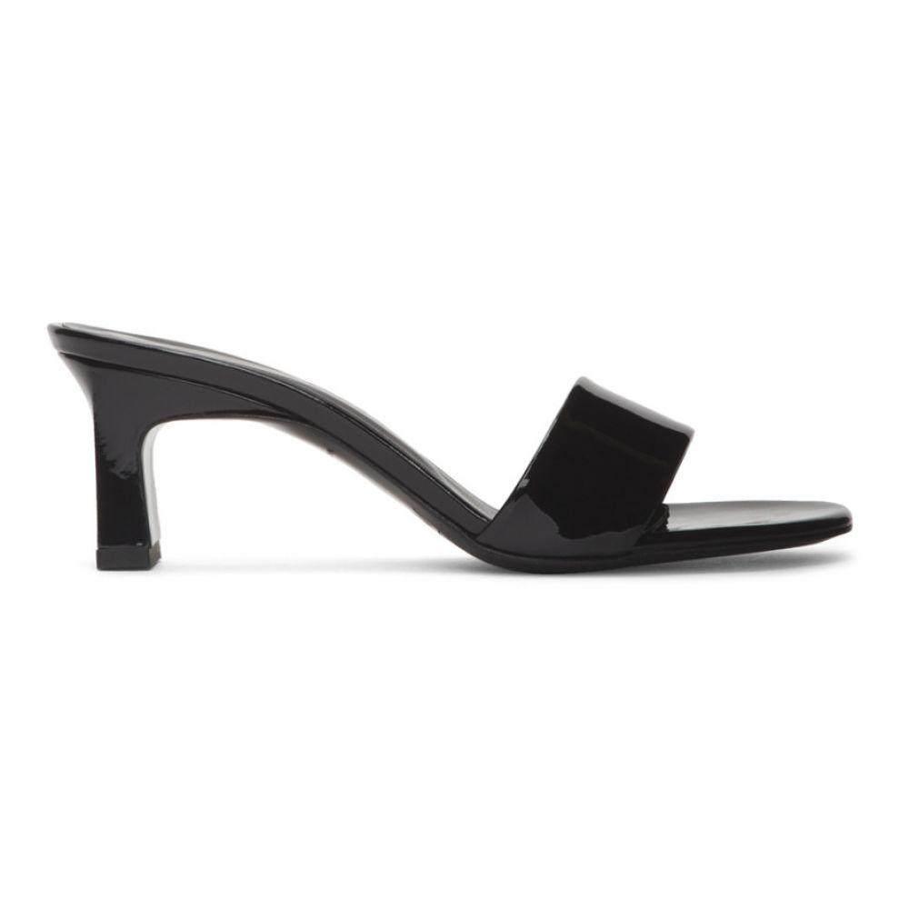 サイモンミラー Simon Miller レディース サンダル・ミュール シューズ・靴【Black Solo Heeled Sandals】Black