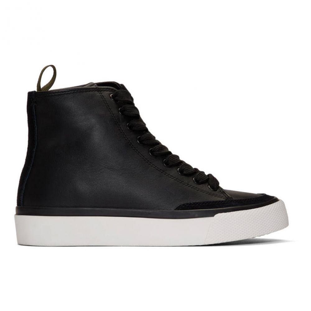 ラグ&ボーン rag & bone レディース スニーカー シューズ・靴【Black RB High-Top Sneakers】Black