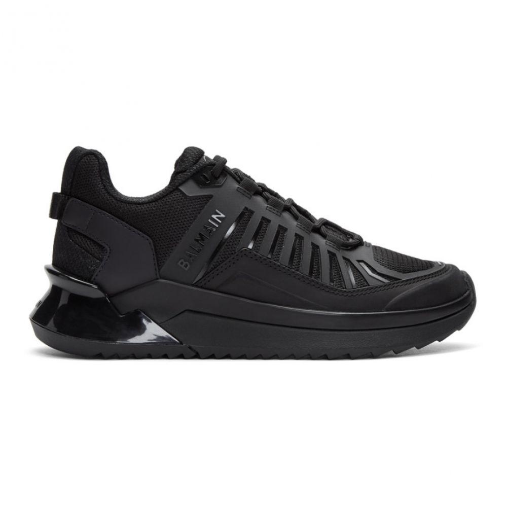 バルマン Balmain レディース スニーカー シューズ・靴【Black B-Trail Sneakers】Black/Black