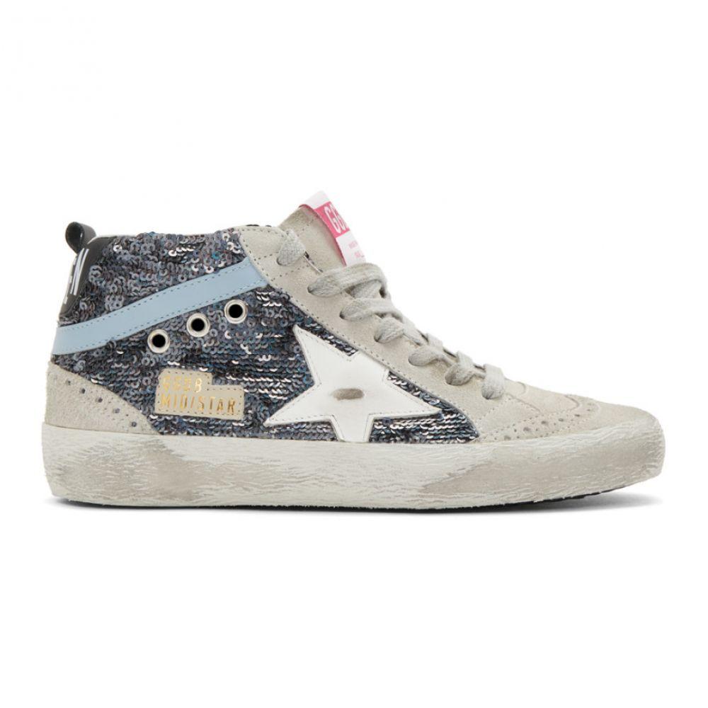 ゴールデン グース Golden Goose レディース スニーカー シューズ・靴【Multicolor Paillettes Mid Star Sneakers】Multicolor