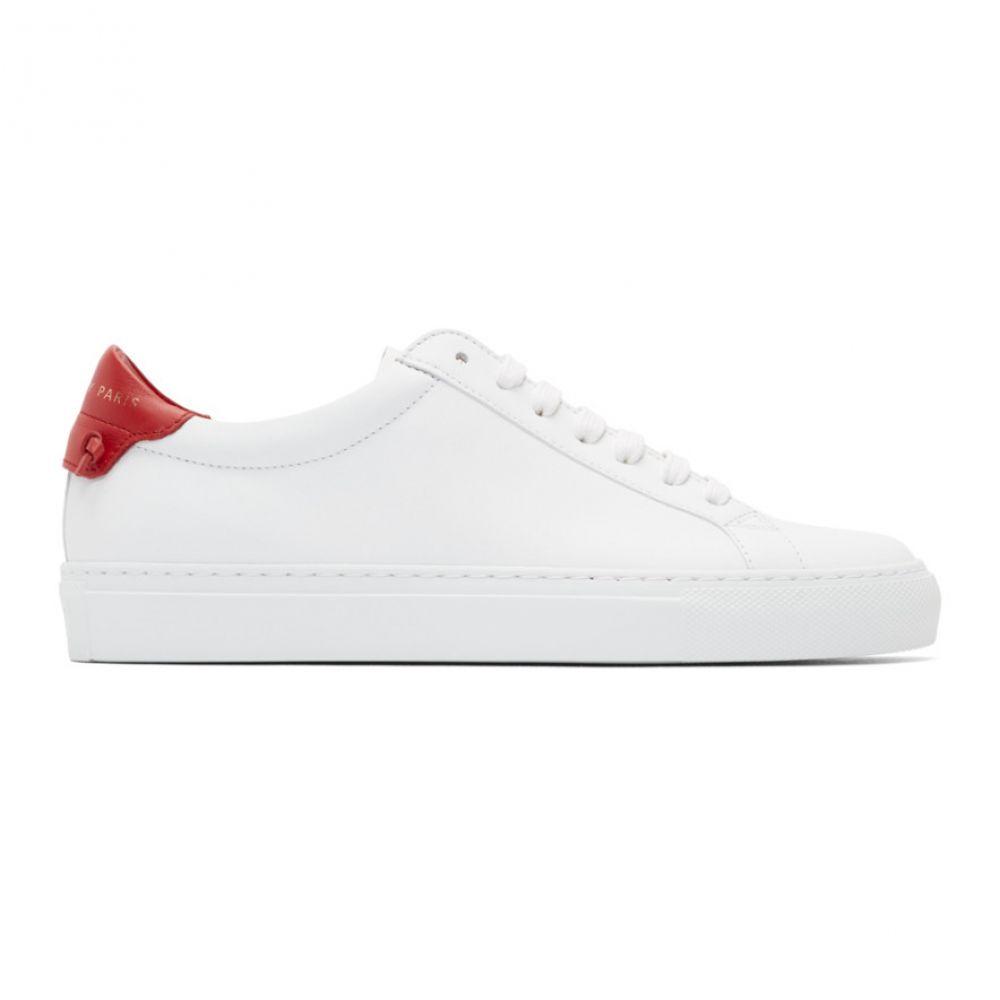 ジバンシー Givenchy レディース スニーカー シューズ・靴【White & Red Urban Street Sneakers】White/Red