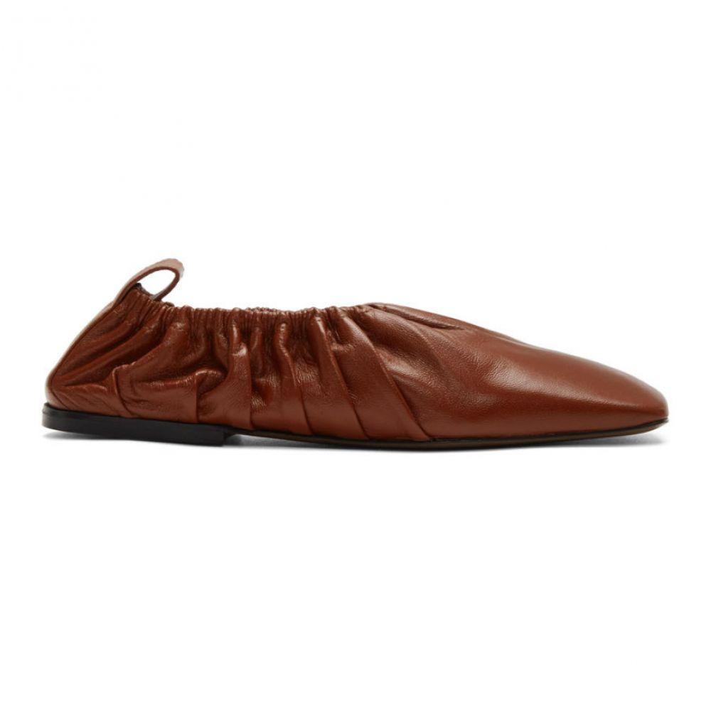 ネオアス Neous レディース スリッポン・フラット シューズ・靴【Red Phinia Flats】Brick