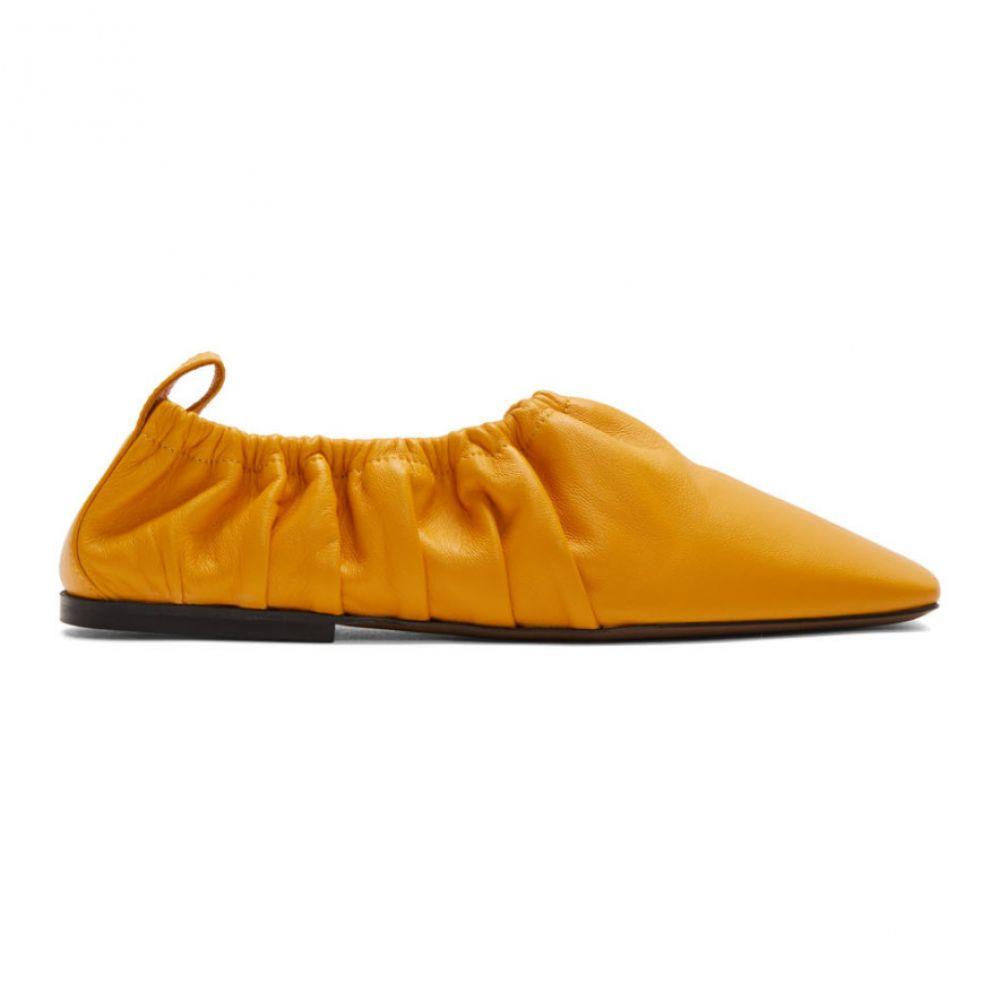 ネオアス Neous レディース スリッポン・フラット シューズ・靴【Yellow Phinia Flats】Mustard