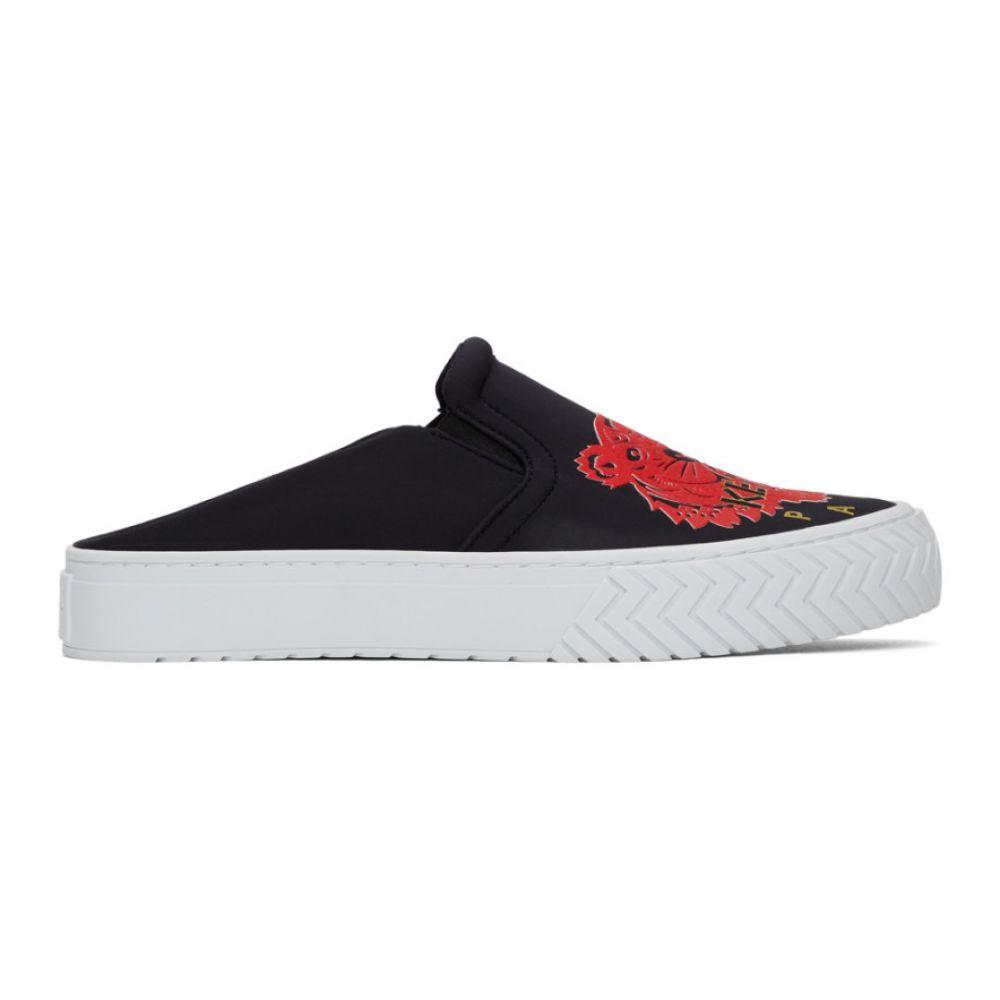ケンゾー Kenzo レディース スニーカー シューズ・靴【Black Limited Edition Chinese New Year Neoprene K-Skate Mule Sneakers】Black