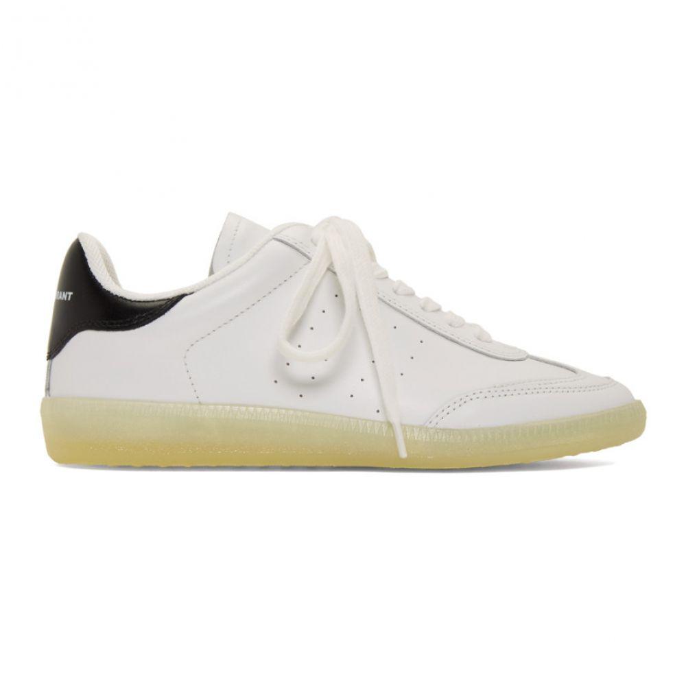 イザベル マラン Isabel Marant レディース スニーカー シューズ・靴【White Bryvee Sneakers】Yellow