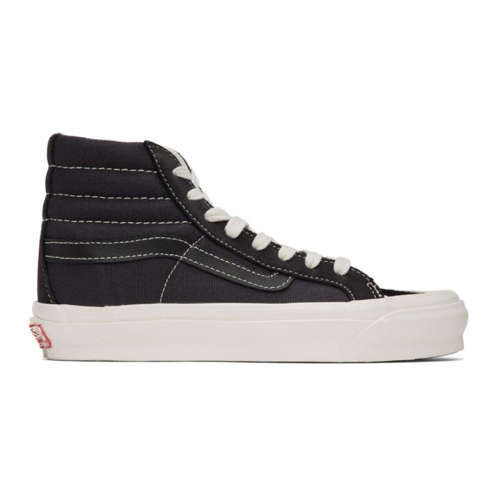 ヴァンズ Vans レディース スニーカー シューズ・靴【Black Suede OG 138 LX High-Top Sneakers】Asphalt