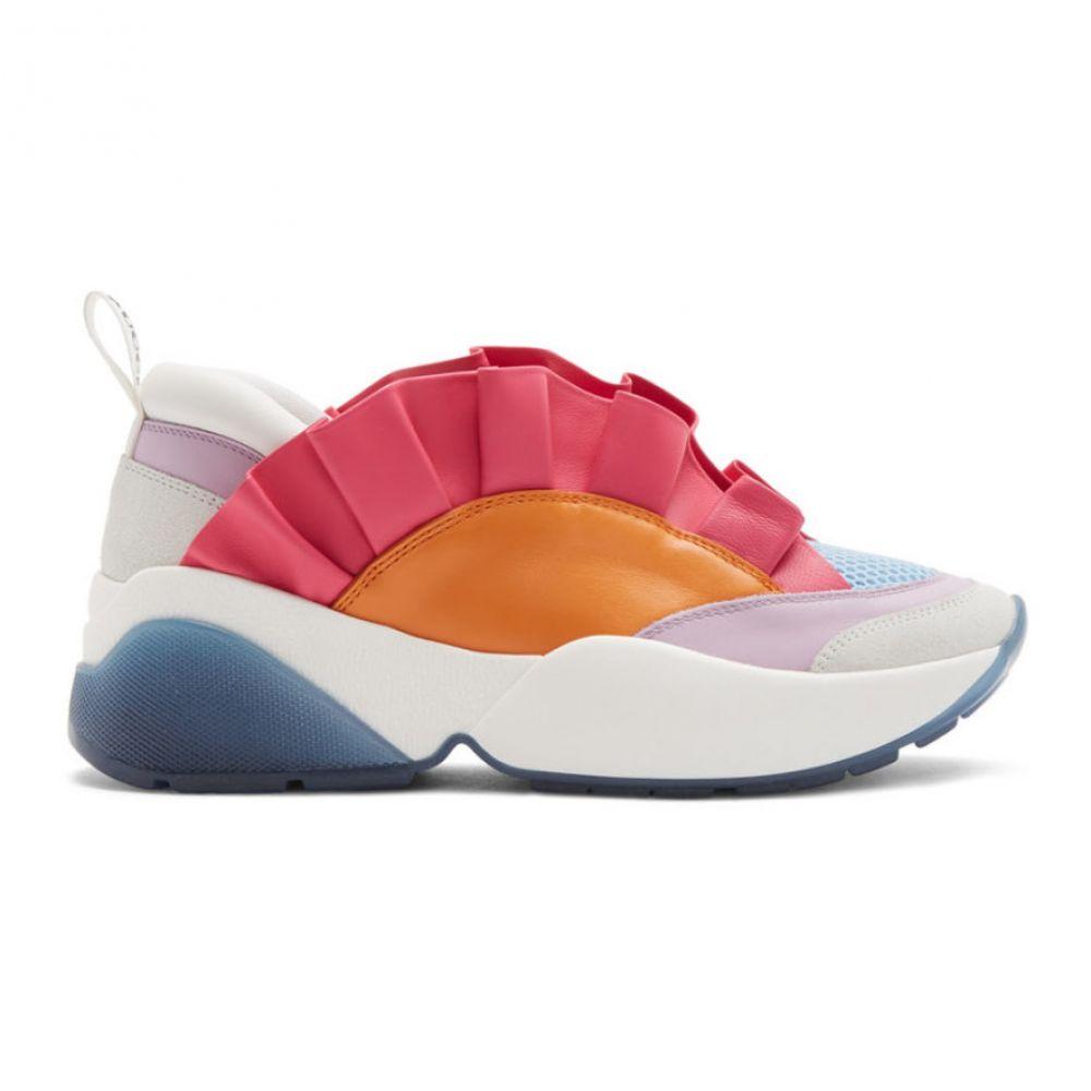エミリオ プッチ Emilio Pucci レディース スニーカー シューズ・靴【Orange & Pink Ruffled Jungle Joy Sneakers】Orange