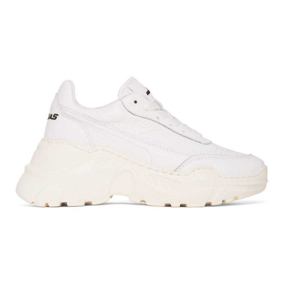 ジョシュア サンダース Joshua Sanders レディース スニーカー シューズ・靴【White Zenith Sneakers】White