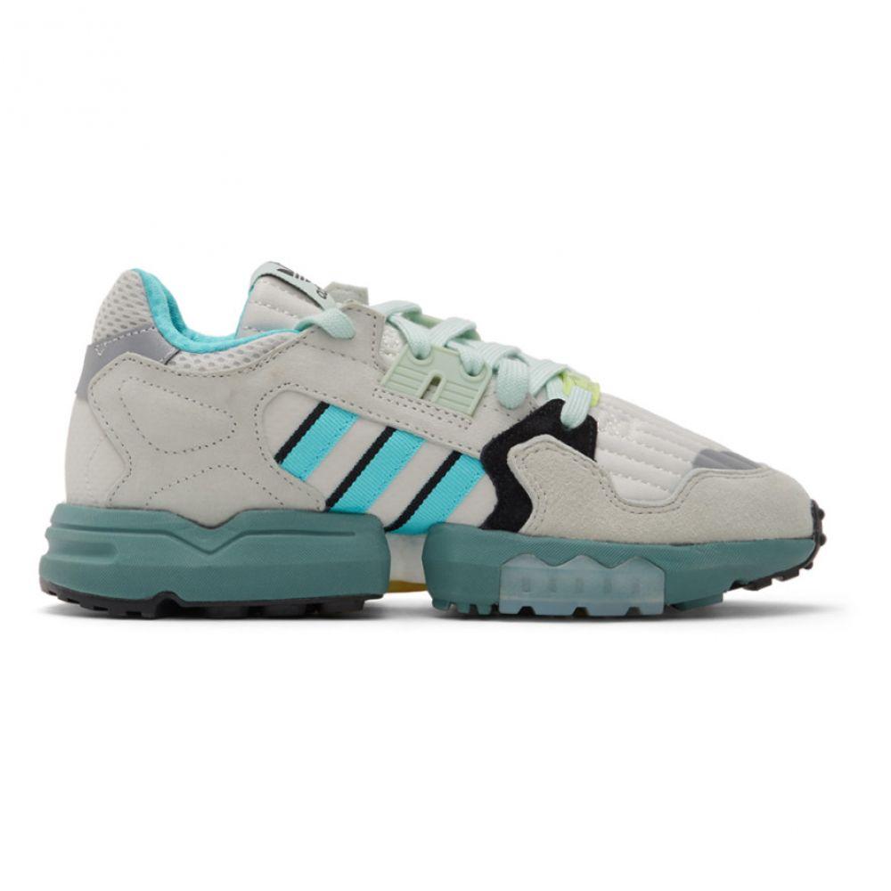アディダス adidas Originals レディース スニーカー シューズ・靴【White & Grey ZX Torsion Sneakers】Orbit grey