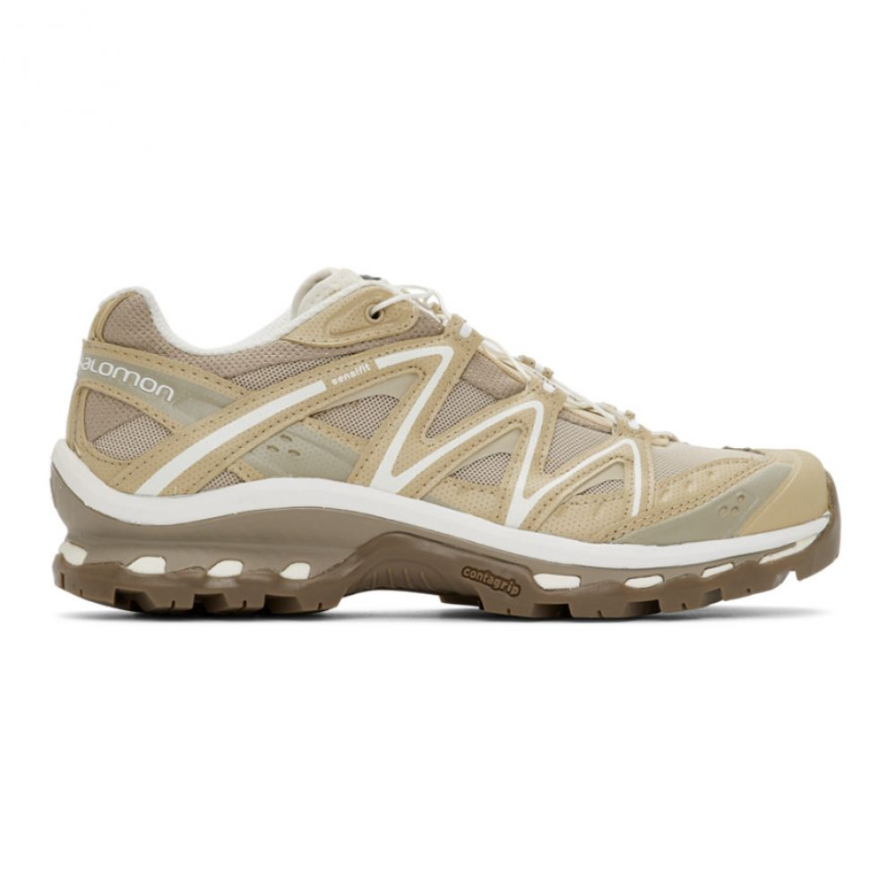 サロモン Salomon レディース スニーカー シューズ・靴【Beige Limited Edition XT-Quest ADV Sneakers】Safari/Bleached sand/Vanilla ice