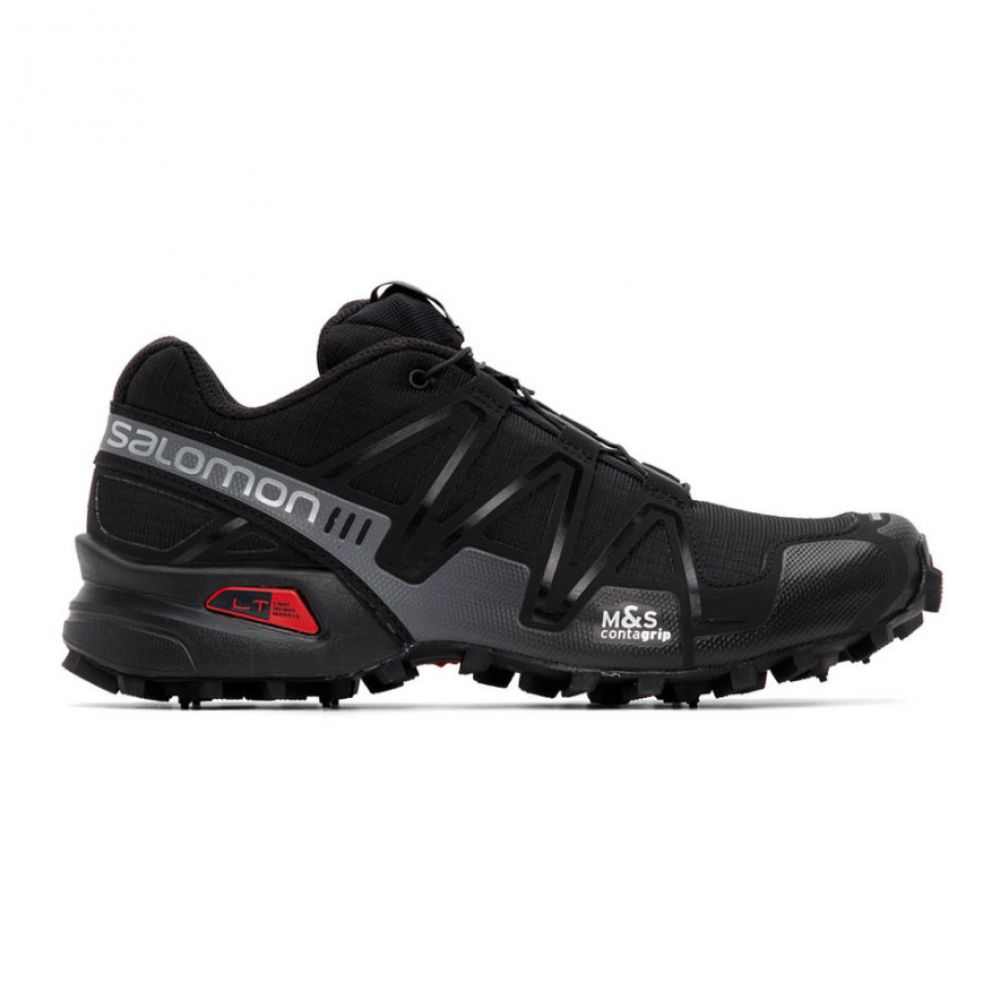 サロモン Salomon レディース スニーカー シューズ・靴【Black Limited Edition SpeedCross 3 ADV Sneakers】Black