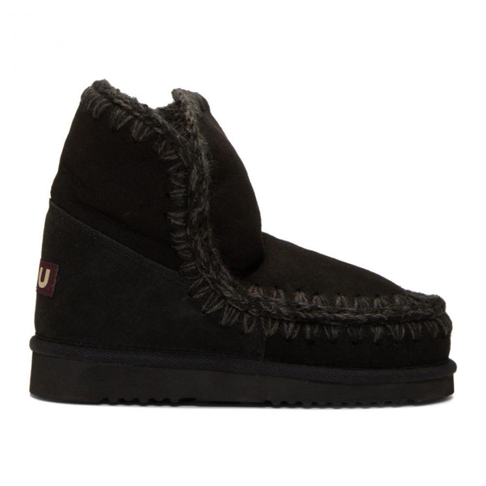 ムー Mou レディース ブーツ ショートブーツ シューズ・靴【Black 18 Ankle Boots】Black/Black