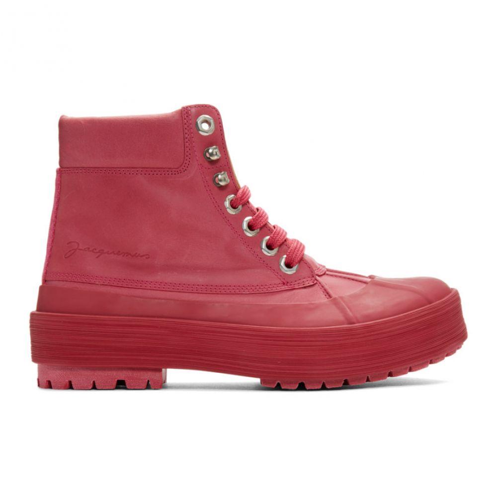 ジャックムス Jacquemus レディース ブーツ シューズ・靴【Pink 'Les Meuniers Hautes' Boots】Pink