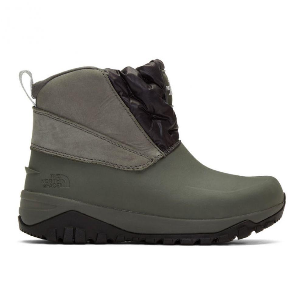 ザ ノースフェイス The North Face レディース ブーツ シューズ・靴【Grey Yukiona Boots】Graphite grey/TNF black