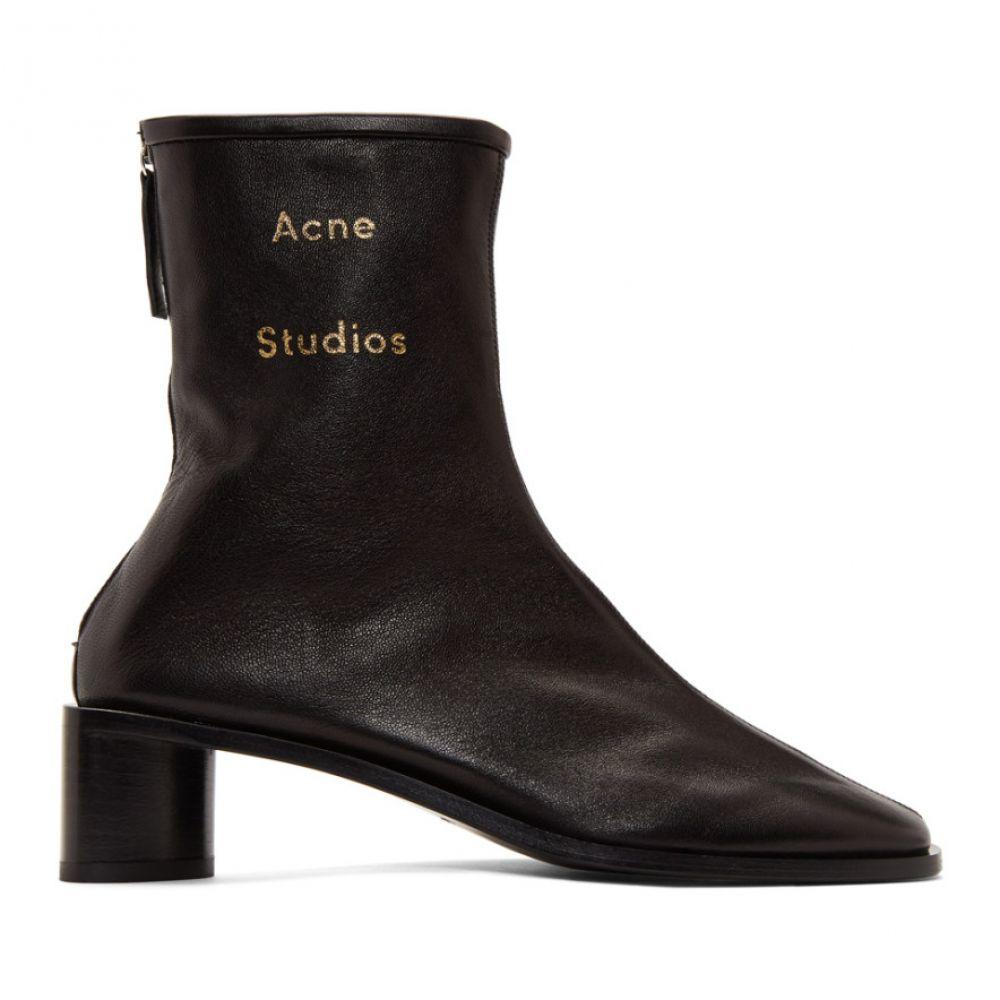 アクネ ストゥディオズ Acne Studios レディース ブーツ シューズ・靴【Black Bertine Boots】Black