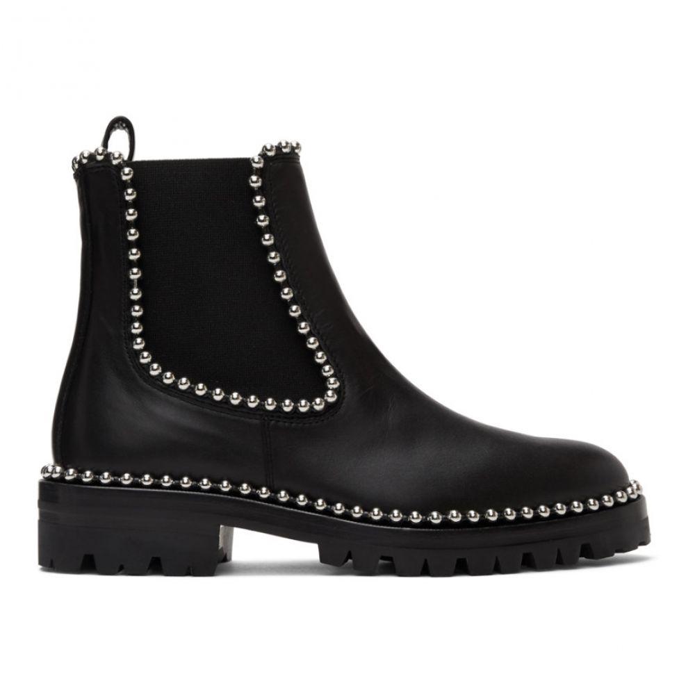 アレキサンダー ワン Alexander Wang レディース ブーツ シューズ・靴【Black Leather Spencer Boots】Black