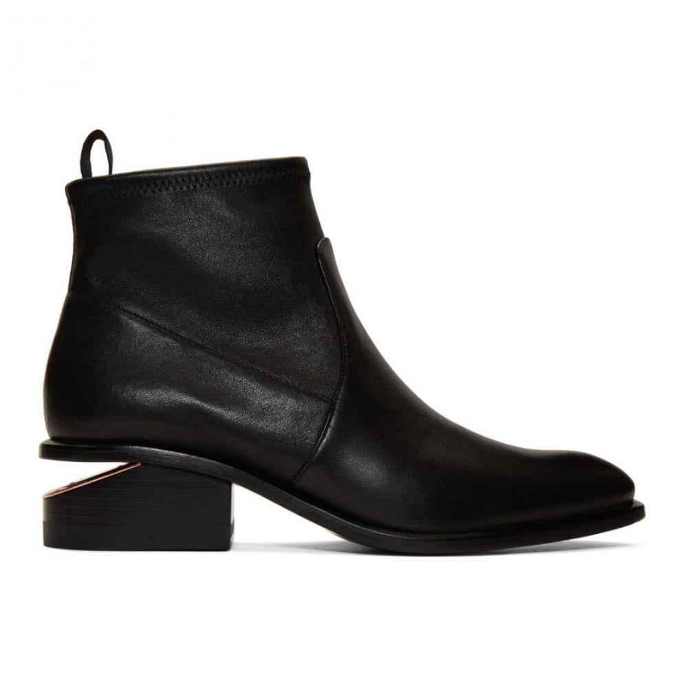 アレキサンダー ワン Alexander Wang レディース ブーツ シューズ・靴【Black Stretch Kori Boots】Black