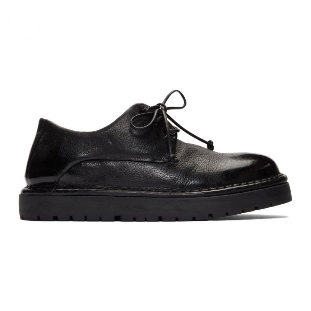 マルセル Marsell レディース ローファー・オックスフォード ダービーシューズ シューズ・靴【Black Gomme Pallottola Derby Oxfords】Nero